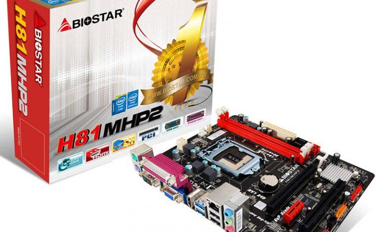 Biostar'ın yeni anakartı DataStar'da