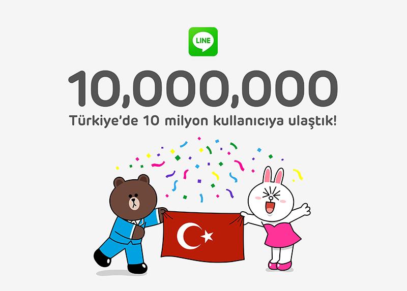 LINE_10milyonKullanici