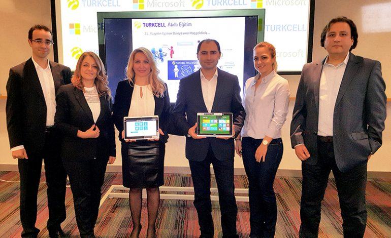 Turkcell ve Microsoft'tan eğitimde işbirliğitan eğitimde işbirliği