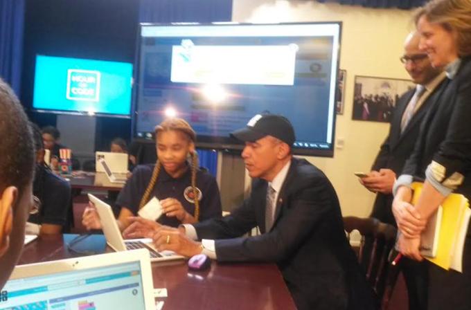 Barack Obama bilgisayar kodu yazdı