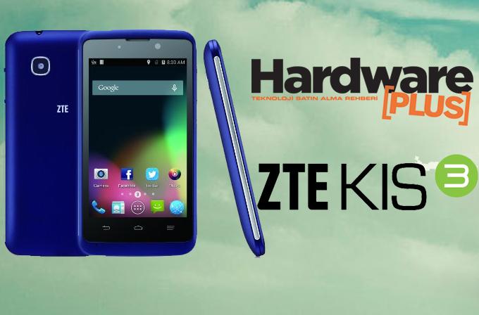 Yeni yılda bir okurumuza ZTE Kis 3 akıllı telefon hediye ediyoruz!