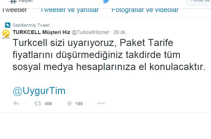 Turkcell Müşteri Hizmetleri'nin Twitter hesabı hacklendi!