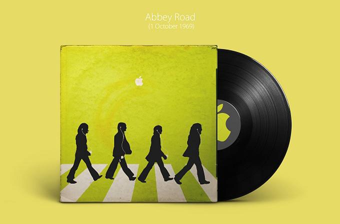 Galeri: Beatles albümlerini Apple tasarlarsa