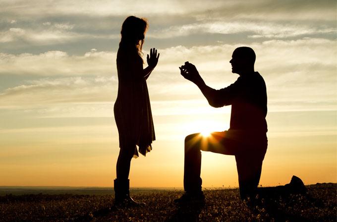 Evlilik teklifi ederken kalp atış hızınız nasıl görünür?