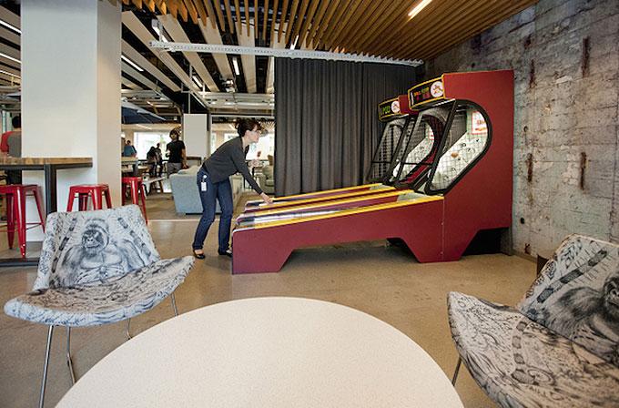 Galeri: Microsoft'un Washington'daki harika ofisi