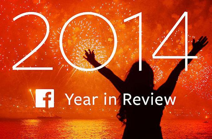 Facebook'tan 2014 özeti videosu