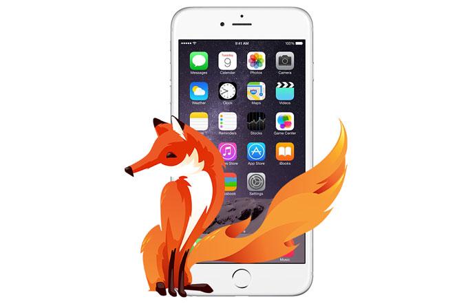 Firefox iOS'a geliyor