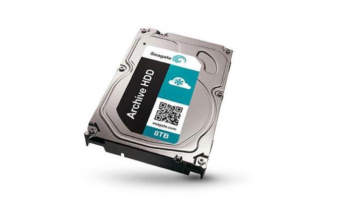 Seagate'in 8TB'lık HDD'siyle devasa depolama