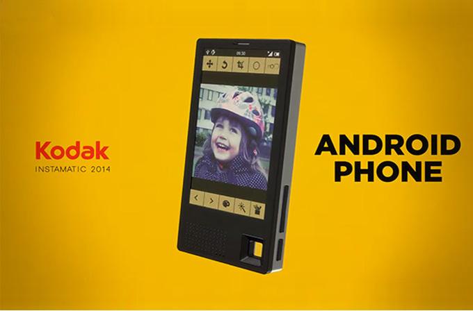 Kodak'tan akıllı telefon geliyor