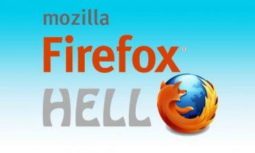 Firefox'un video chat programı Hello basitleştirildi