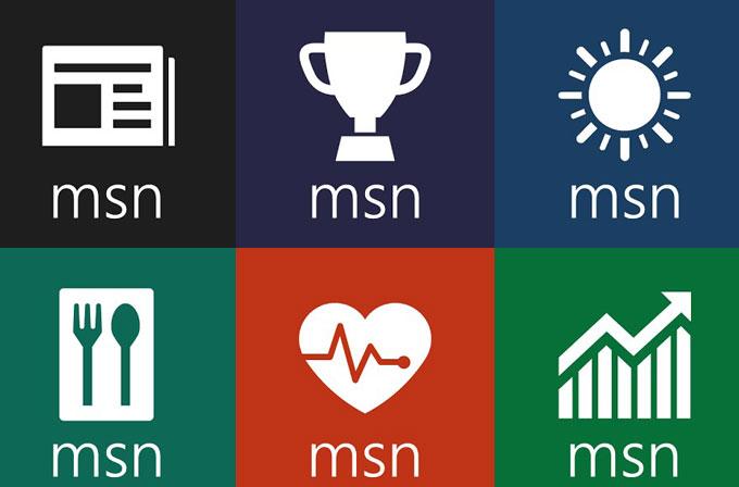 MSN uygulamaları artık cebinizde!