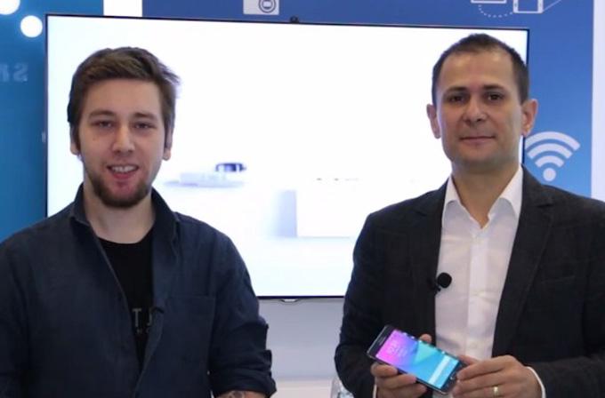 Samsung Türkiye Ürün Müdürü, Galaxy Note Edge'i anlattı