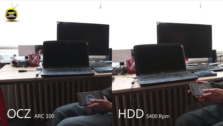 Eski bir laptop'u OCZ ARC 100 SSD'si takarak hızlandırıyoruz (VİDEO)