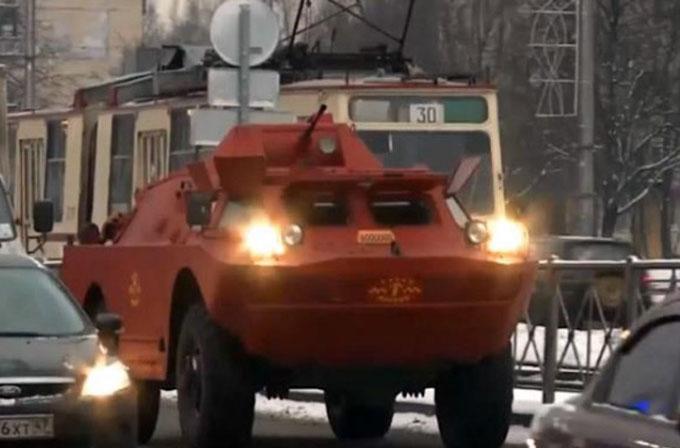 7 tonluk askeri araç bir taksi ister miydiniz?