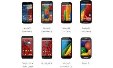 Motorola Moto akıllı telefonlarına Lollipop güncellemesi geliyor