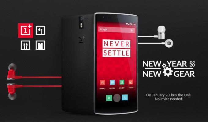 OnePlus One'ı 20 Ocak'ta satın alabilirsiniz