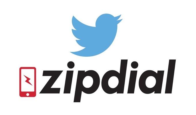Twitter ZipDial'ı satın aldı