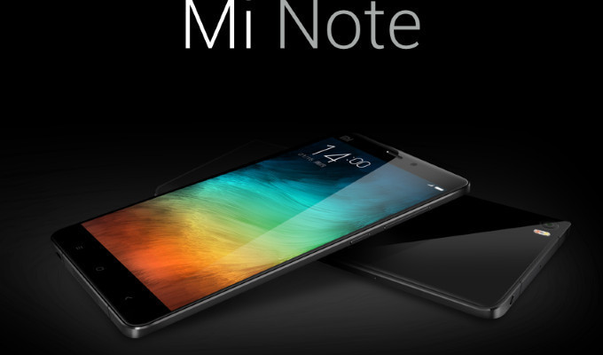 Xiaomi'nin 2015'te 15 milyon Mi Note üretmesi bekleniyor