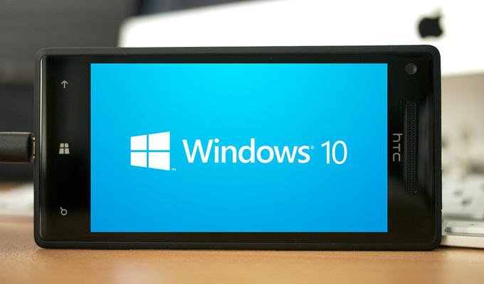 Telefonlar için Windows 10 önümüzdeki ay gelebilir