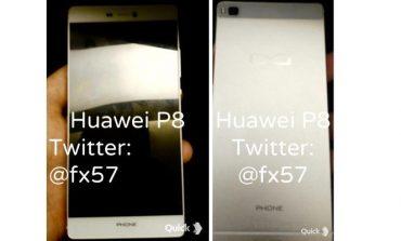Huawei P8'in fotoğrafları sızdırıldı