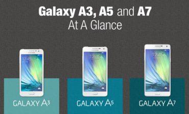 Samsung Galaxy A3 ve Galaxy A5 12 Şubat'ta çıkıyor