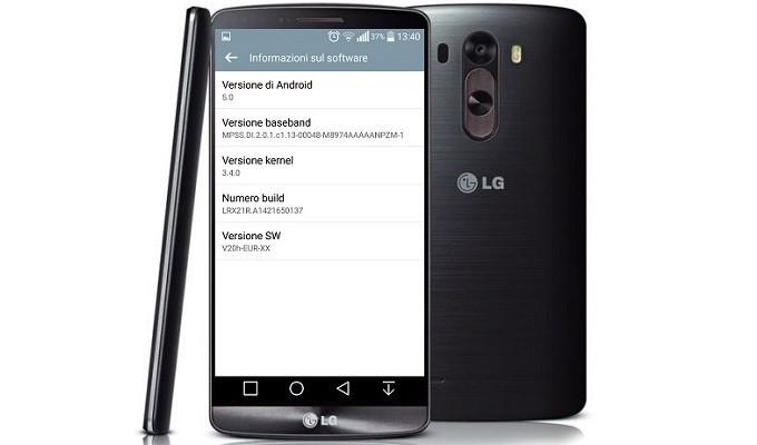 Avrupa'daki LG G3 kullanıcıları için 2. bir güncelleme geldi