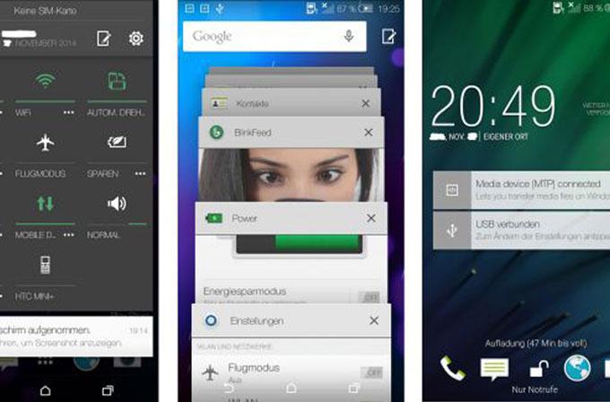 Galeri: Android 5.0 Lollipop güncellemesi sonrası HTC One M8