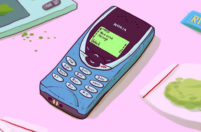 İngiltere'de uyuşturucu satıcılarının tercihi Nokia 8210