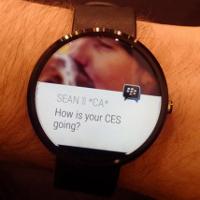 BlackBerryMessenger Android'li akıllı saatlere mi geliyor?