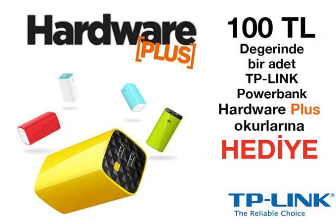 Hardware Plus'tan TP-LINK Powerbank kazanma şansı!
