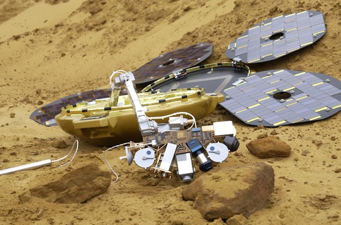 Video: Kaybolan rover 12 yıl sonra Mars üzerinde bulundu!