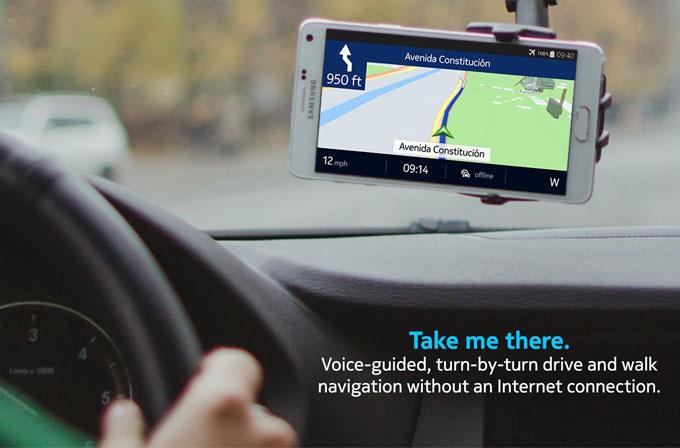 Android kullanıcıları Nokia HERE uygulamasını çok sevdi