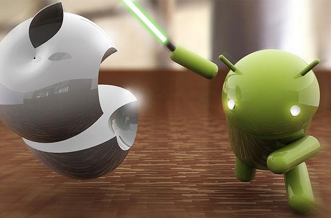 Google Play Store'da artık App Store'a göre daha çok uygulama var