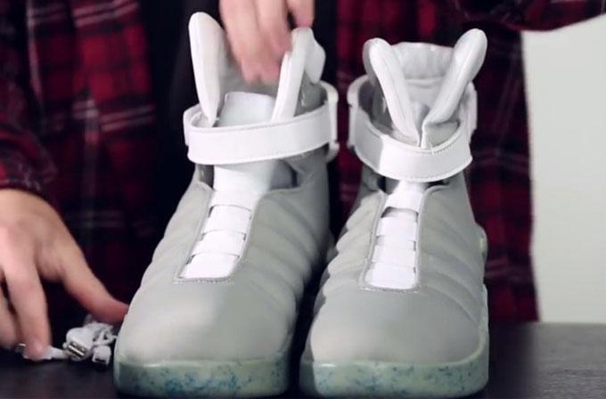 Nike, 'Back to the Future' ayakkabısının bu yıl çıkacağını onayladı