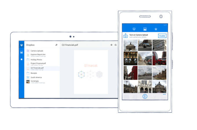 Dropbox, nihayet Windows Phone'a geldi