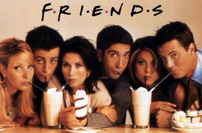 Friends dizisinin efsane jeneriği,müziksiz olunca pek bir ürkütücü oluyormuş