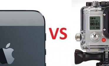 Apple'dan GoPro'ya hodri meydan.