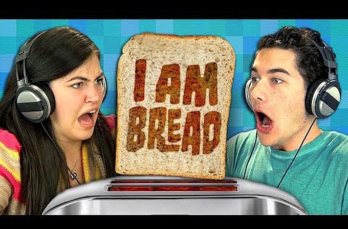 """Ergenlerin """"I Am Bread"""" ile imtihanı"""