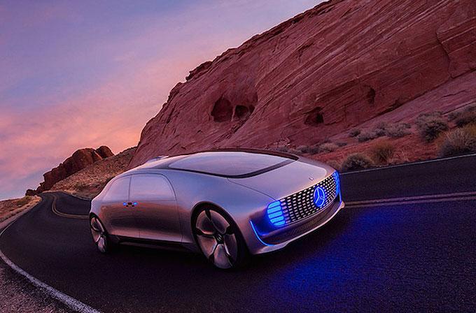 Mercedes-Benz, CES 2015'te fütüristik sürücüsüz aracını duyurdu