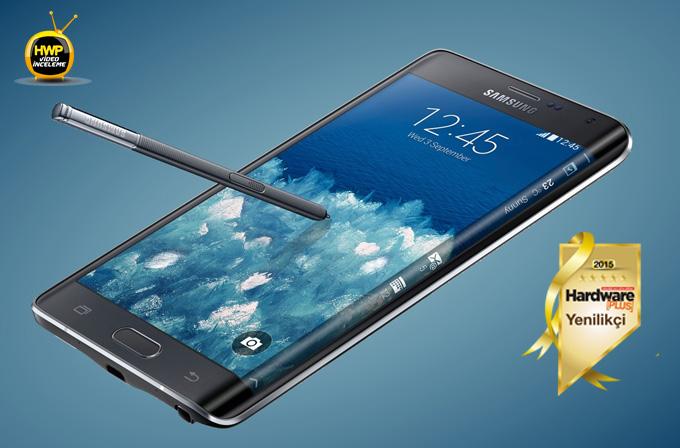Samsung Galaxy Note Edge incelemesi