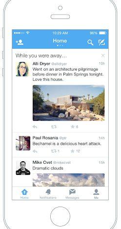 Twitter'dan iOS uygulamasına yeni özellik