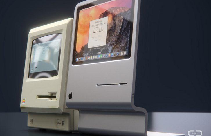 Alman Curved'den yeni iMac için Apple Lisa makyajı