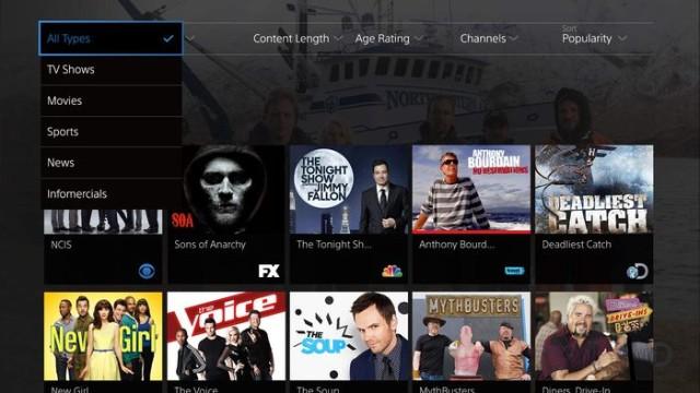 PlayStation Vue ile internet televizyonu piyasasını sallayacak