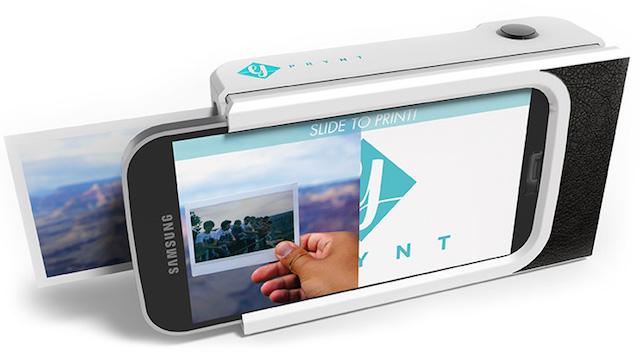 The Prynt Case ile akıllı telefonlar fotoğraf basabilecek