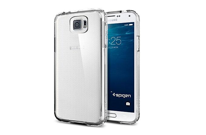 Samsung Galaxy S6, Spigen kılıflarıyla ortaya çıktı