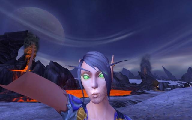 World Of Warcraft'ın 6.1 yaması ile oyuna selfie özelliği geliyor