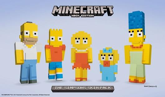 Minecraft'a Simpson'lar geliyor!