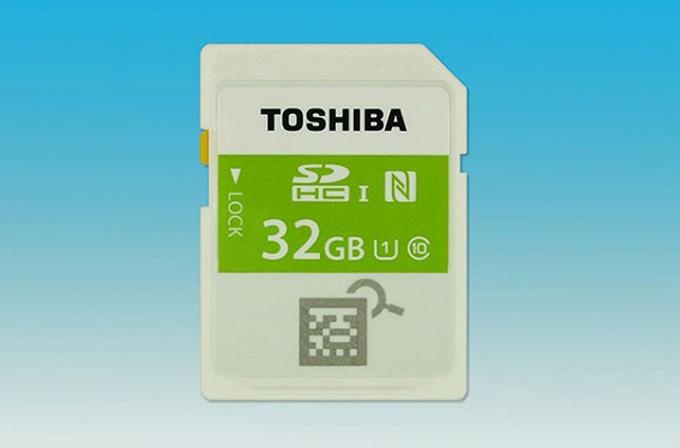 Dünyanın ilk NFC desteği sunan SD kartı Toshiba'dan