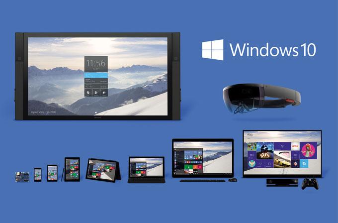 Windows 10 işletim sistemleri arasında yüzde 2.47'lik dilime sahip