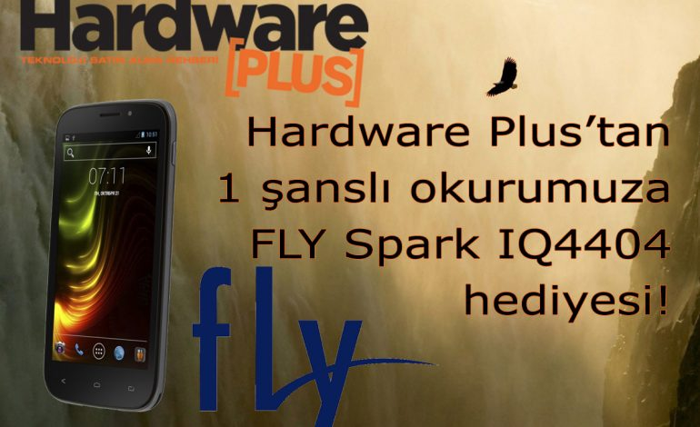 Hardware Plus'tan bir FLY Spark daha şanlı okurlarımızdan birisini bekliyor!
